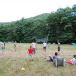 Volejbalový turnaj s trampami