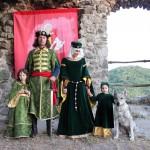 Ctený vojvoda Bacil s rodinou