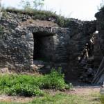 Stav jednej stieľne na bastióne pred a po rekonštrukcii
