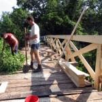 Nové zábradlie na moste