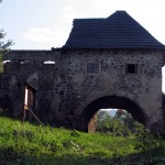 Castle gate-here is the accommodation