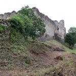 Menej známy pohľad na hrad