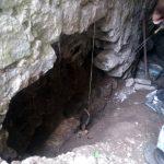 Pri čistení podzemnej chodby sme našli takúto dieru
