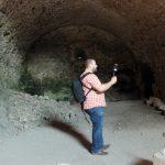 Testovali aj ručný skener na dokumentovanie hradného podzemia