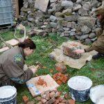 A drvíme tehlu na zásyp koruny muriva